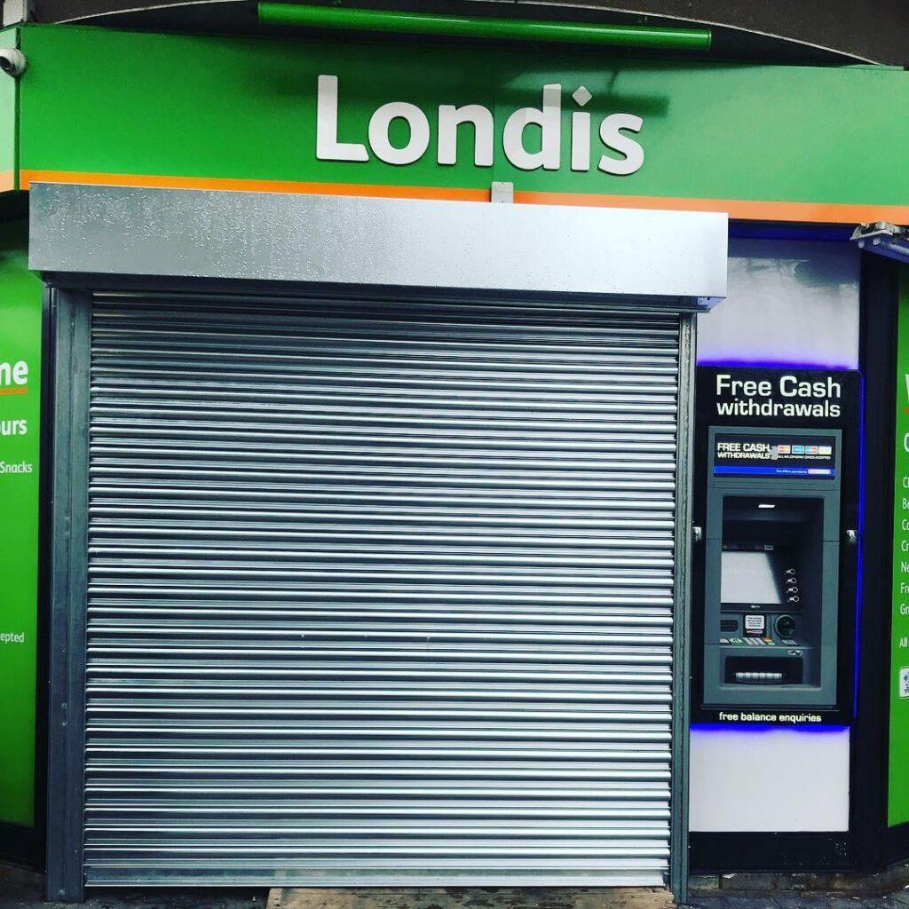 shop shutter services london