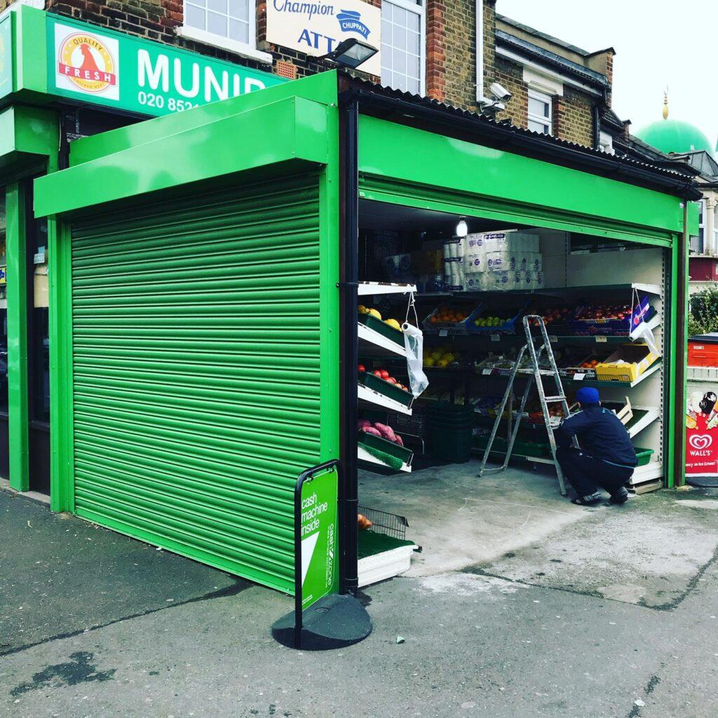 electric shutters london