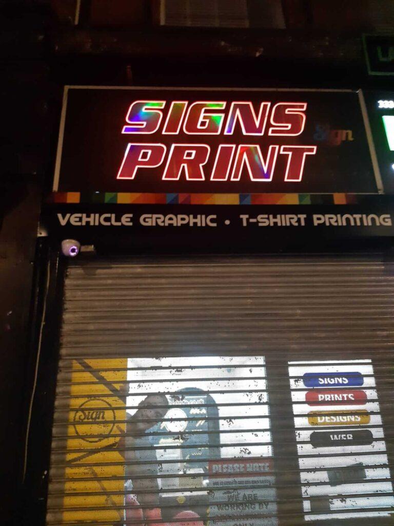 neon design prints
