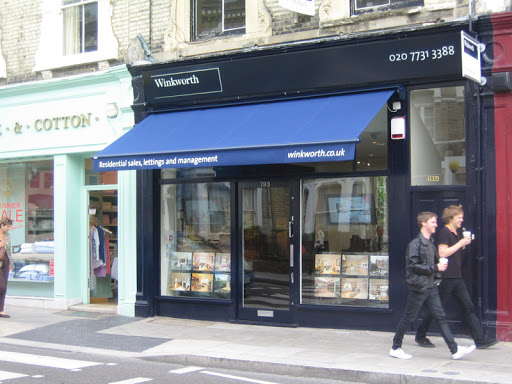 canopy for shop front
