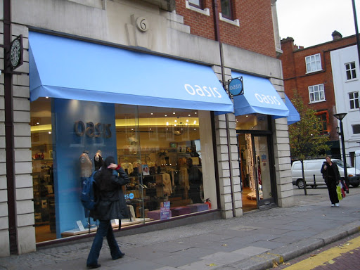 Front shop canopy