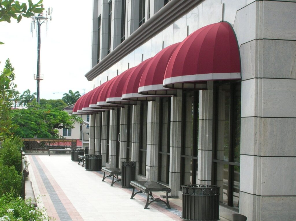 canopy for building