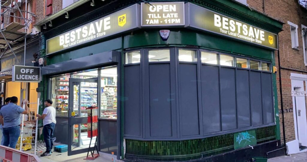 shop front boards