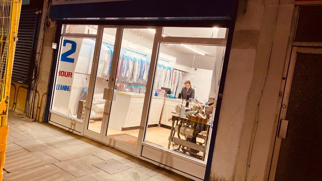 shop front services london