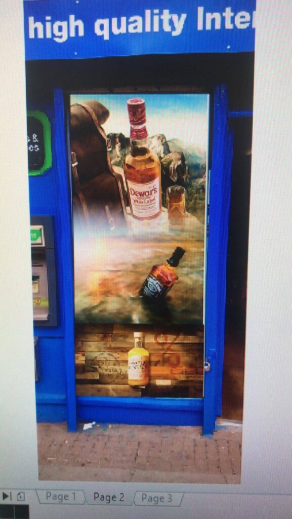 beer bar shop prints
