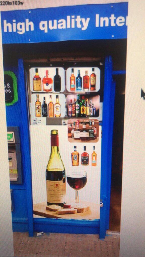 glass door print services