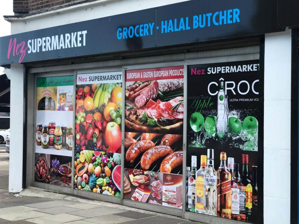 shop front graphic providers