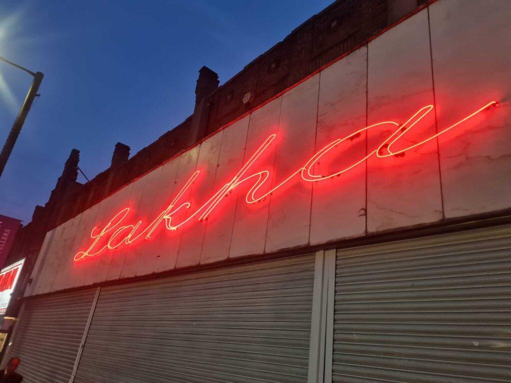 neon sign design london