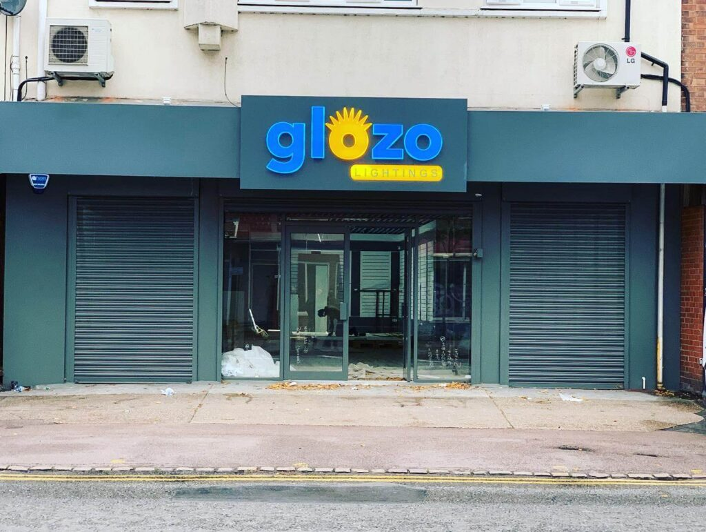 Giozo Sign design and fitting