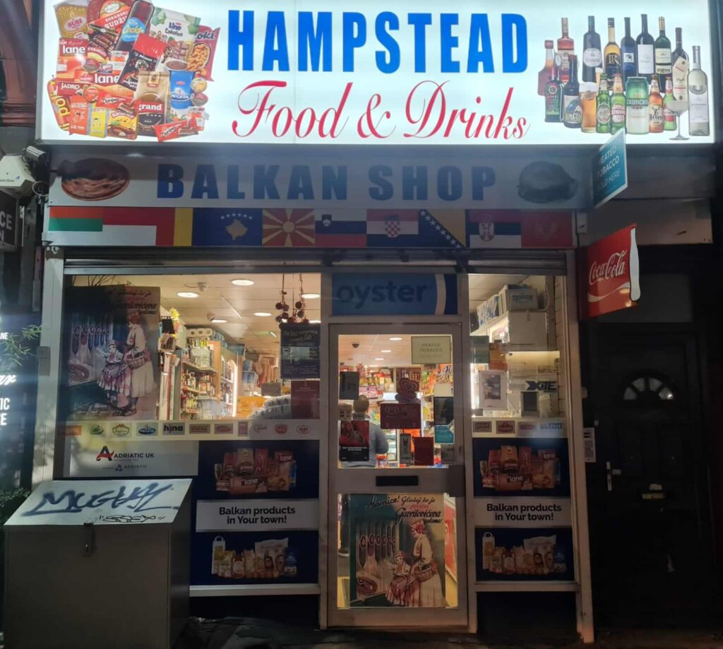 sign board design online west hampstead