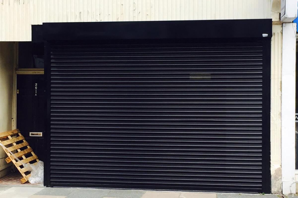 front shop shutter fitting